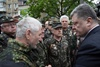 Лидеры Украины почтили память жертв чернобыльской катастрофы