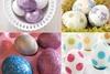 Варианты оформления пасхальных яиц