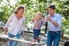 Джастин Трюдо со своей женой Софи Грегуар и младшим  сыном Адрианом