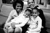 Мишель и Барак Обама со своими дочерьми Малией Энн и Наташей
