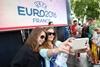 В Киеве провожали сборную Украину на Евро-2016