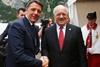 Премьер-министр Италии Маттео Ренци и президент Швейцарии Йоханн Шнайдер-Амманн