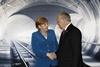 Канцлер Германии Ангела Меркель и президент Швейцарии Йоханн Шнайдер-Амманн