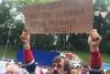 Переселенцы пикетировали Кабмин