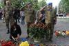 Церемония памяти погибших в АТО