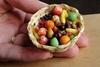 Миниатюрная еда из глины Ким Клаф