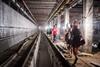 стройка станции метро Победа в харькове