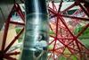 Самая длинная и высокая в мире горка-тоннель