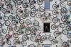 Дом из велосипедов в Германии