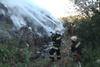 пожар на свалке в хмельницоком