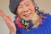 Эмико стала манекенщицей в 93 года