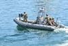 Редкие кадры морского спецназа в Одессе