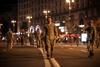 Репетиция военного парада на ночном Крещатике