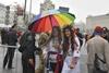 Участники праздничного парада в Киеве
