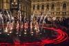 светомузыкальный фонтан в Киеве