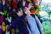 Цветочная аллея в Харькове