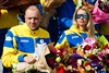 в Харькове встретели паралимпийцев