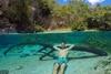 селфи под водой Тьяго Корреа