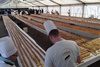 Самый длинный шоколадный эклер в мире