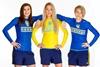 Женская сборная по футболу снялась в эксклюзивной фотосессии
