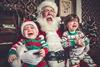 Реакция детей на Деда Мороза