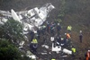 Крушения пассажирского самолета в Колумбии