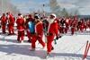 забег Санта Клаусов