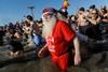 новогодний костюмированный заплыв в сша