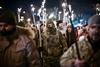 факельное шествие в честь Героев Крут в киеве