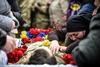прощальная церемония с бойцами 72-ой бригады в киеве