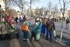 Майдан Независимости после столкновений