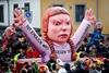 карнавал политической сатиры в Дюссельдорфе