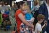 В Украину вернулись десять детей арестованной в Грузии гражданки Украины