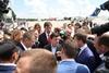 Владимир Зеленский прилетел в аэропорт Днепра