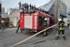 Пожар у  Глобуса  в Киеве