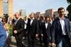 Зеленский и Филатов в Днепре не смогли выявить победителя в пари по Новому мосту