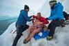 Заплыв Льюиса Пью в Антарктиде