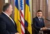 Встреча Владимира Зеленского и Майка Помпео