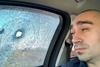 обстреляли машину журналистов