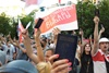 митинг против лукашенко под посольством беларуси в украине