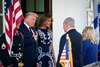 дональд и мелания трамп, биньямин и сара нетаньяху