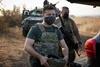 Владимир Зеленский в зоне ООС в День защитника Украины