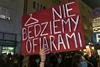 протесты в Польше из-за запрета абортов