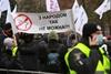 протесты предпринимателей под радой