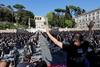 протесты артистов в италии