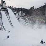 Снег на Олимпиаде в Пхенчхане на 98% искусственный