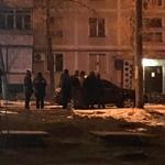 В Запорожье возле школы взорвалось авто