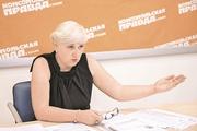 Глава ОСМД Лада Лукьянова:  Зимой за отопление мы платили всего 360 гривен