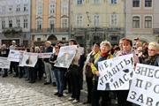 Жители Львова против мусорного завода:  Хватит нас отравлять – только вонять перестало!