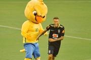 За Австралию - кенгуренок-боксер, а за Бразилию - злой Канариньо